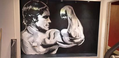Arnie Painting